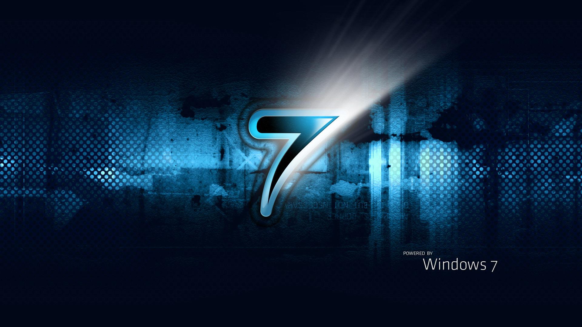 Windows 7 Dark Blue 1920x1080 HD Image Computers Windows 7 1920x1080