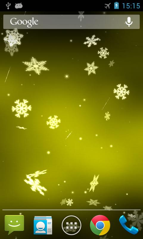Snowflake 3D Live Wallpaper   Android Apps on Google Play 480x800