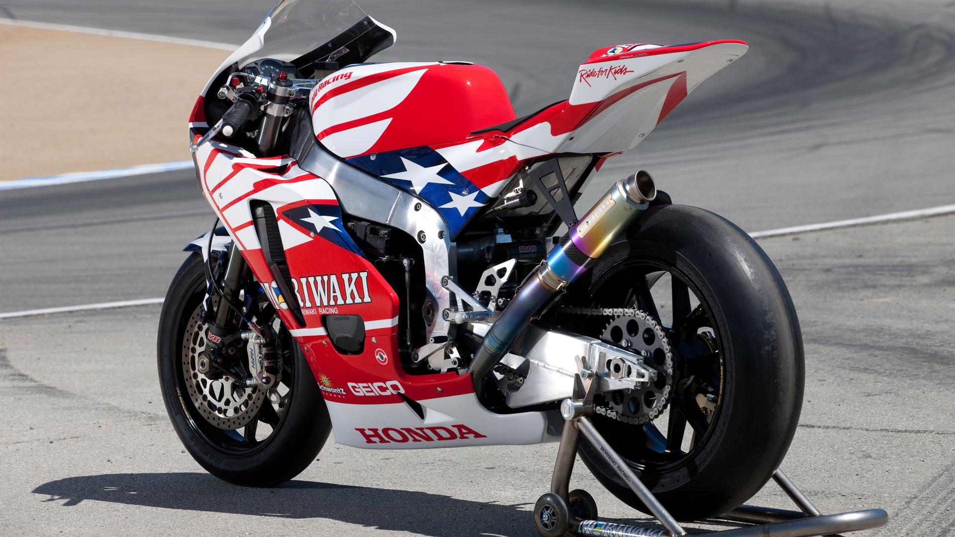 moto gp honda bike usa flag paint 1920x1080