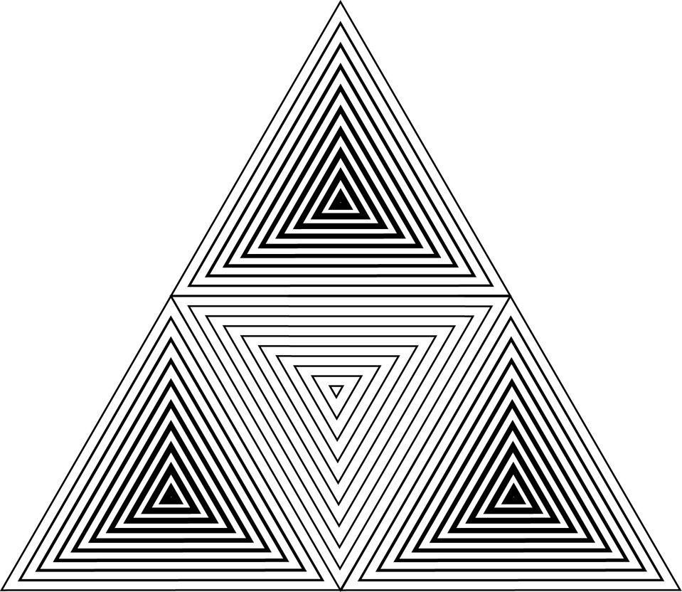 Geometric Triangle Wallpaper