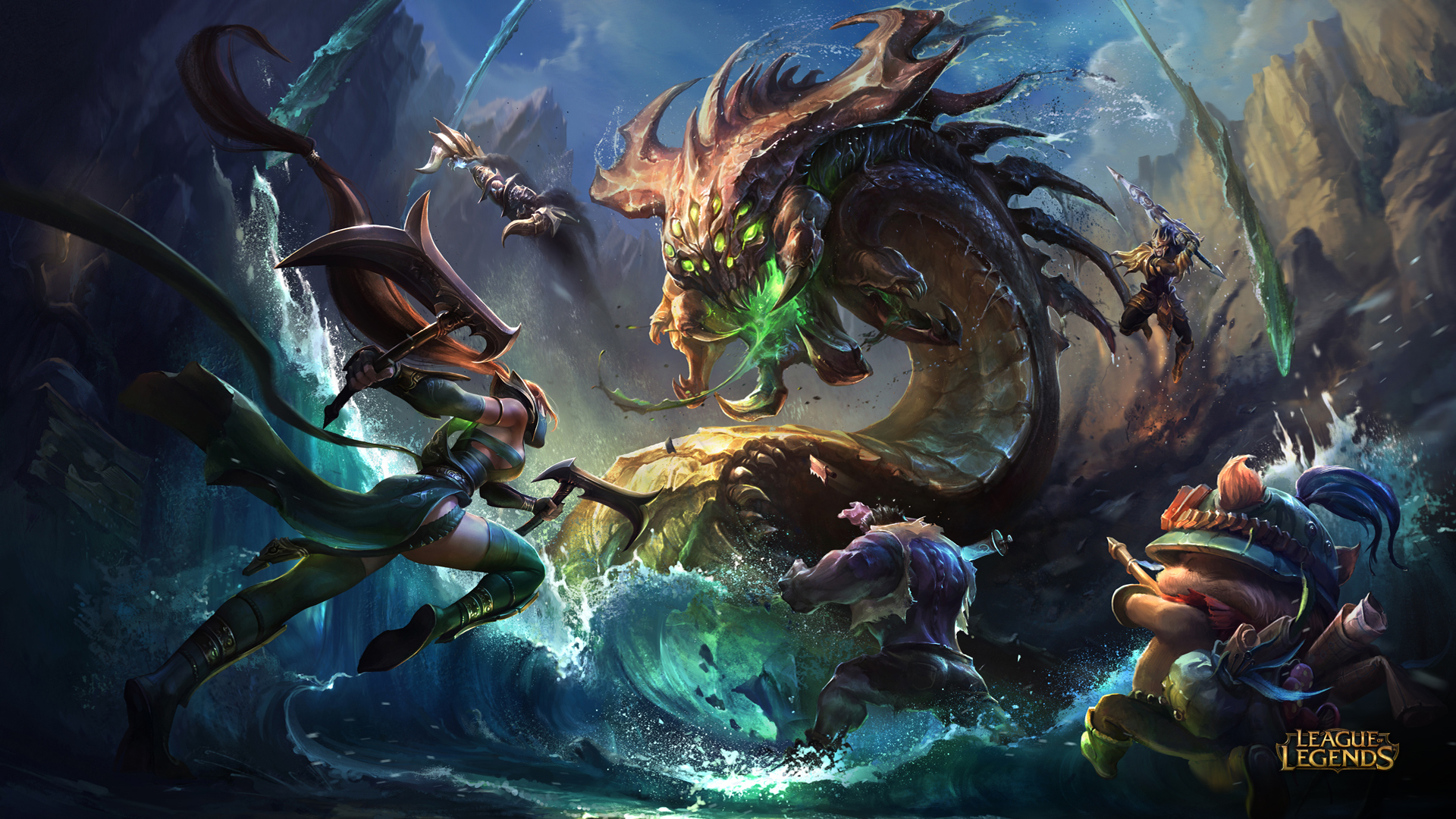 75 besten League of Legends Wallpaper
