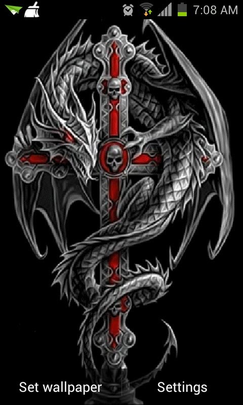 Dragon Cross Live Wallpaper Android Live Wallpaper download 480x800