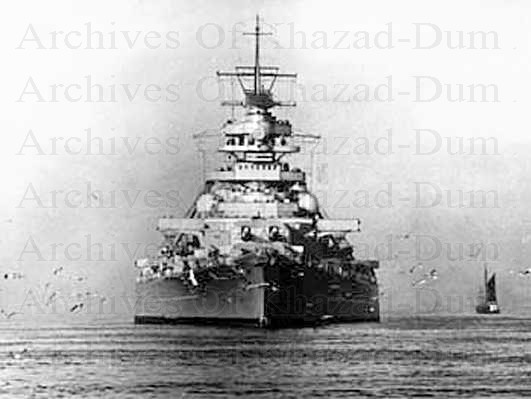 Archives of Khazad Dum German battleship Bismarck   Elba 1940 531x399