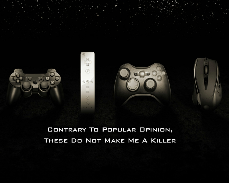 Funny Pc Wii Sony Microsoft Playstation Mouse Gamepad Cont Wallpaper 800x640