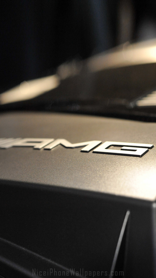 AMG logo iPhone 5 wallpaper and background 640x1136