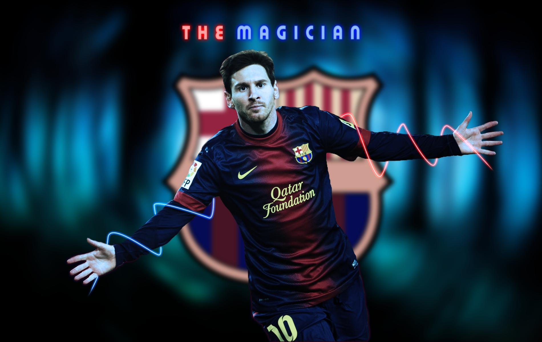 Lionel Messi Football Wallpaper 1900x1200