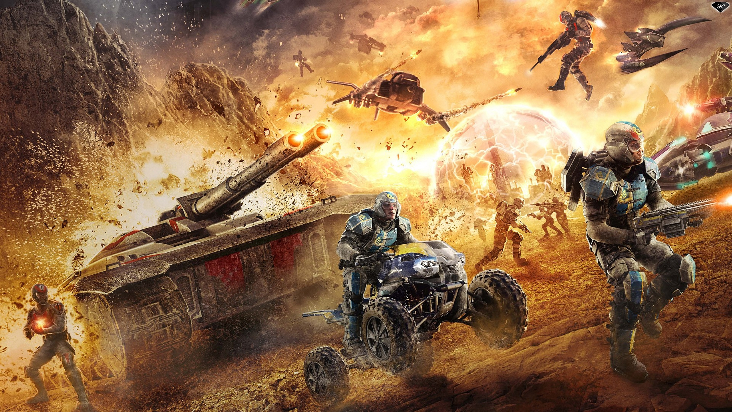 33 Planetside 2 HD Wallpapers Background Images 2560x1440