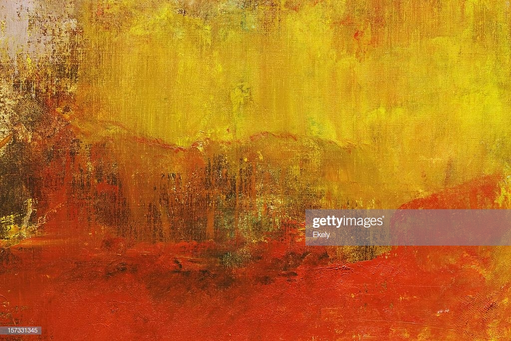 Abstract Painted Yellow And Red Art Backgrounds Stock Photo 1024x683