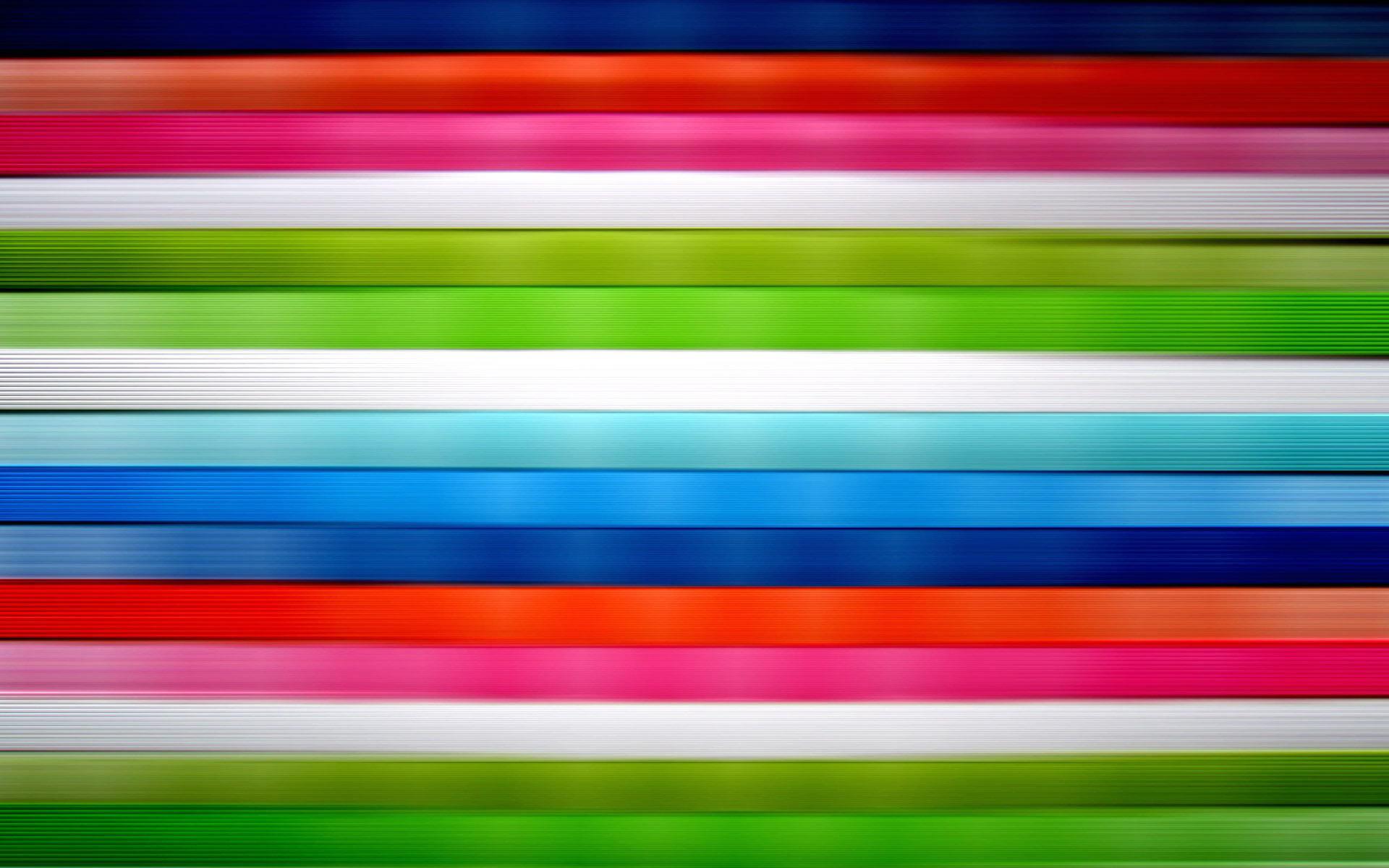 Horizontal vivid colored stripes wallpaper 201 1920x1200