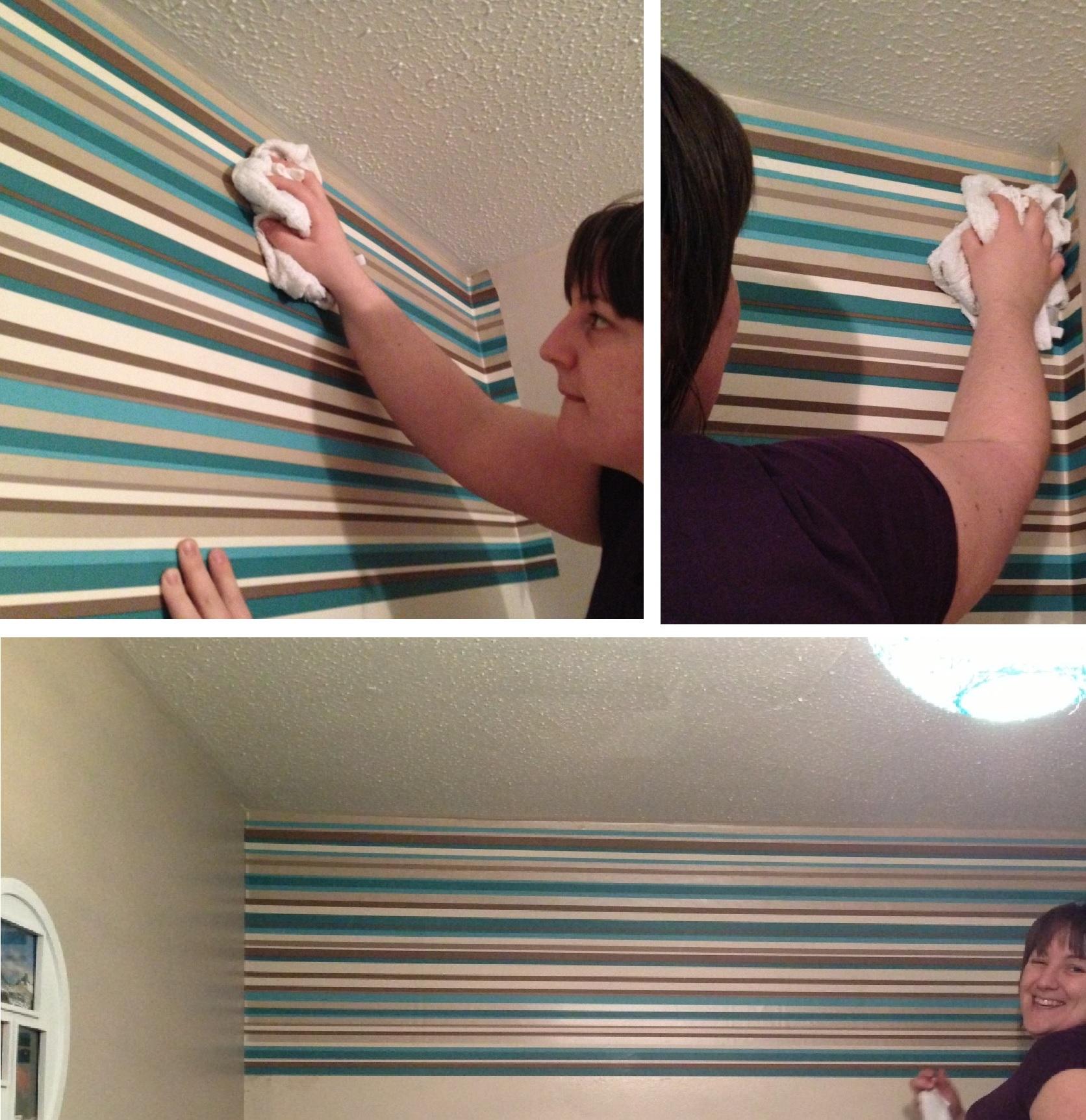 How to hang wallpaper horizontally 1672x1724