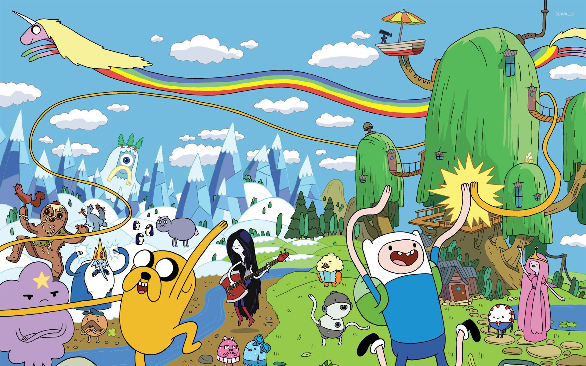 Adventure Time Computer Wallpapers   Top Adventure Time 1920x1200