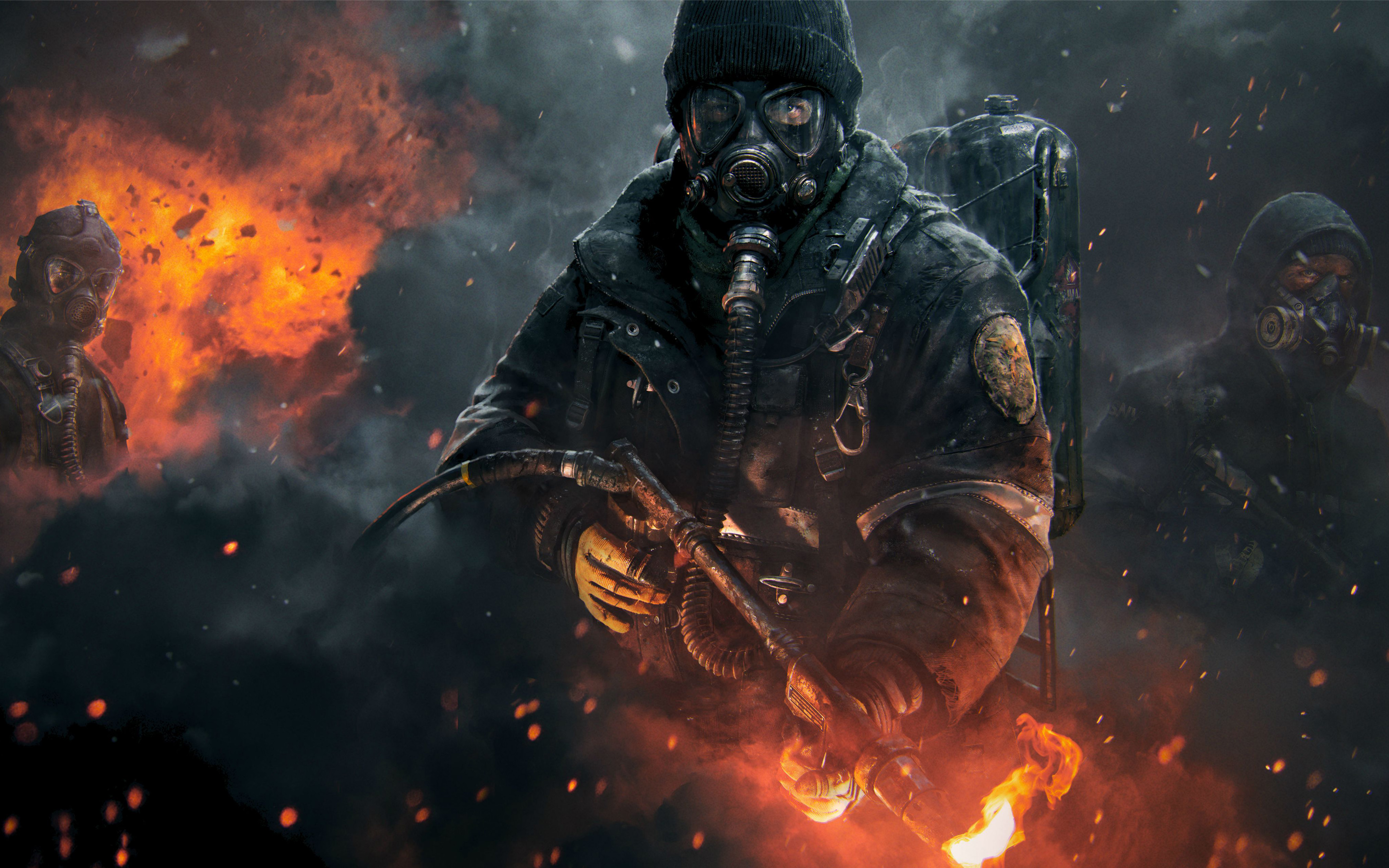 Tom Clancys The Division Wallpapers HD Wallpapers 2880x1800