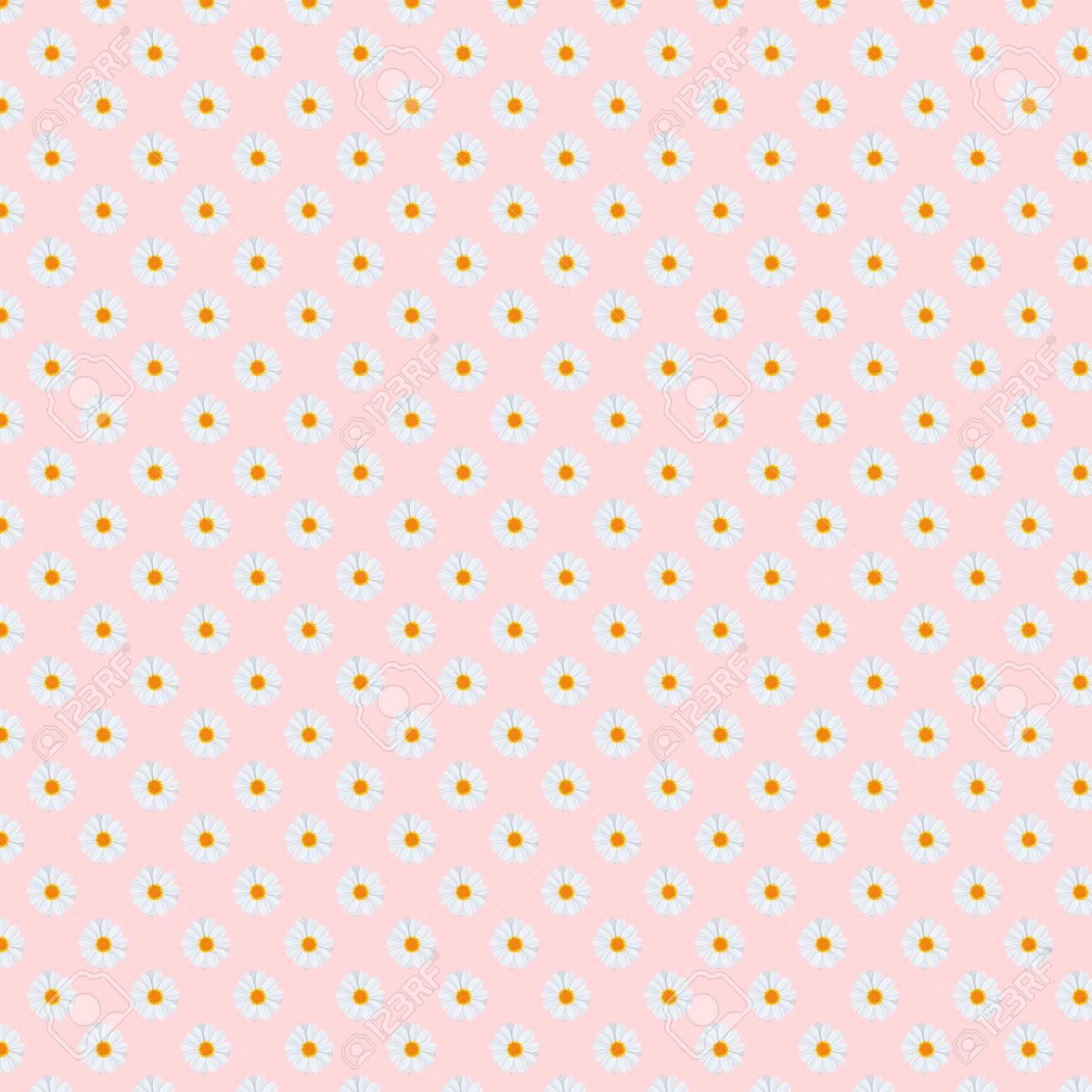 5000x5000px 300dpi Fancy Daisies Daisy Field Floral Pattern 1300x1300