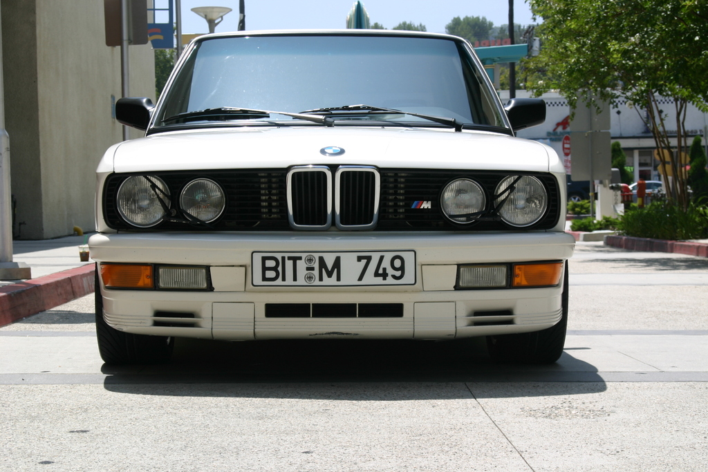 1986 B M W E28 M535i Euro 218HP High Compression 1024x683