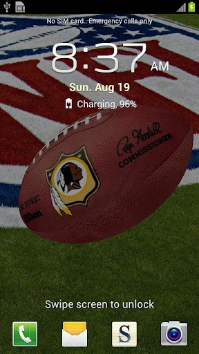 View bigger   Washington Redskins Wallpaper for Android screenshot 288x512