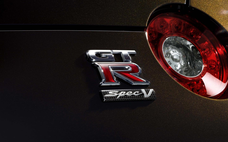 nissan gt r spec v logo available resolutions 1440x900