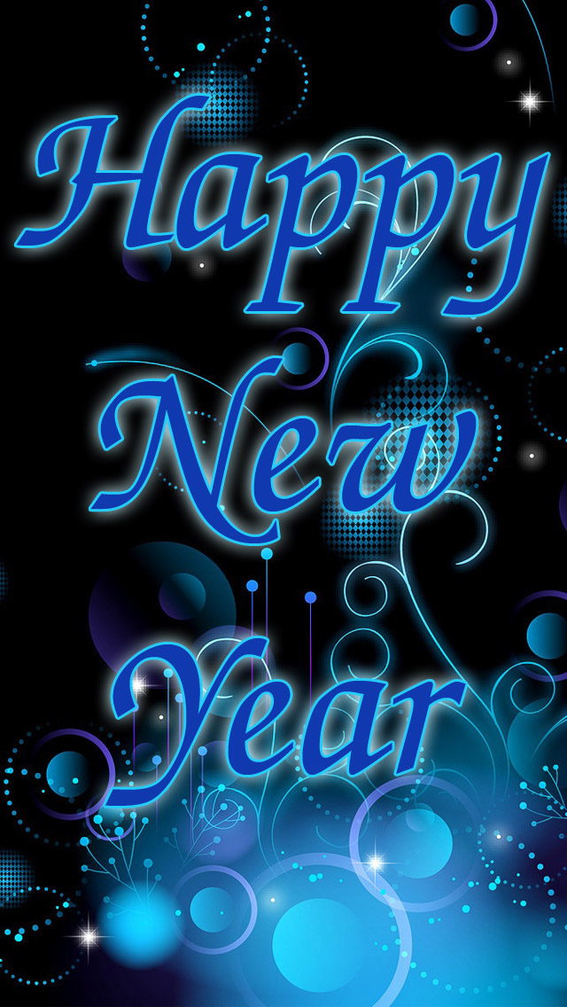 new year 2014 iphone 5 wallpapers wallpapers cafe 640x1136