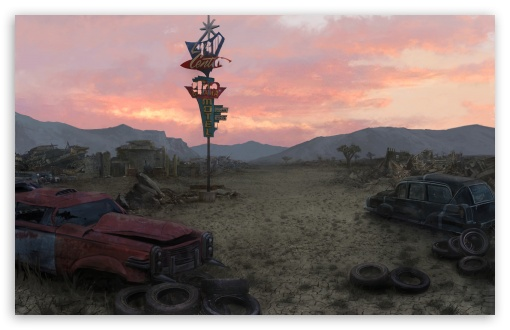 Fallout New Vegas Concept Art   Junkyard HD wallpaper for Standard 43 510x330