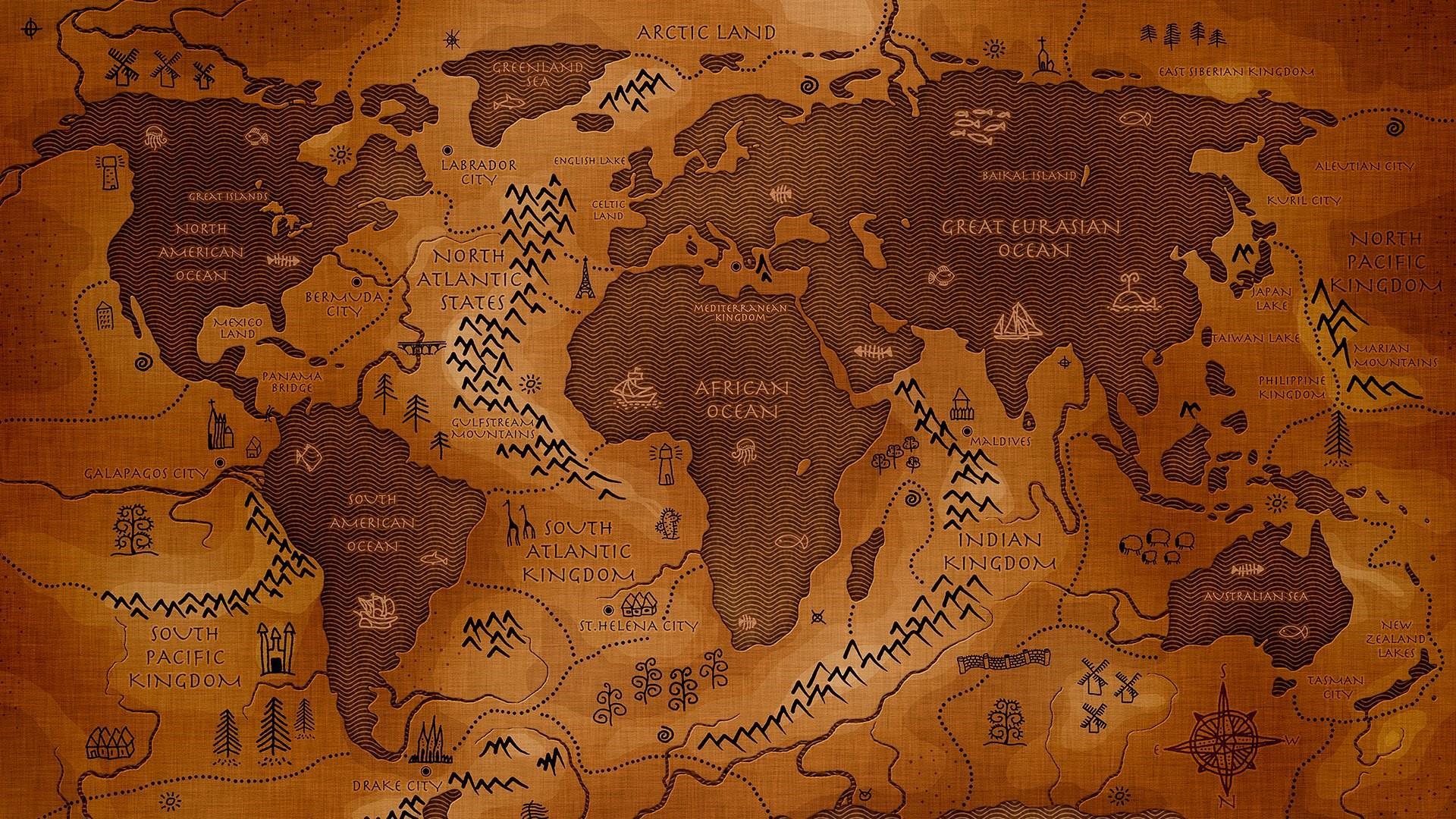 40 World Map Desktop Wallpapers   Download at WallpaperBro 1920x1080