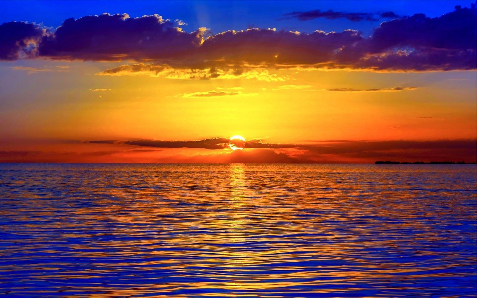 ocean sunset wallpaper Waves ocean