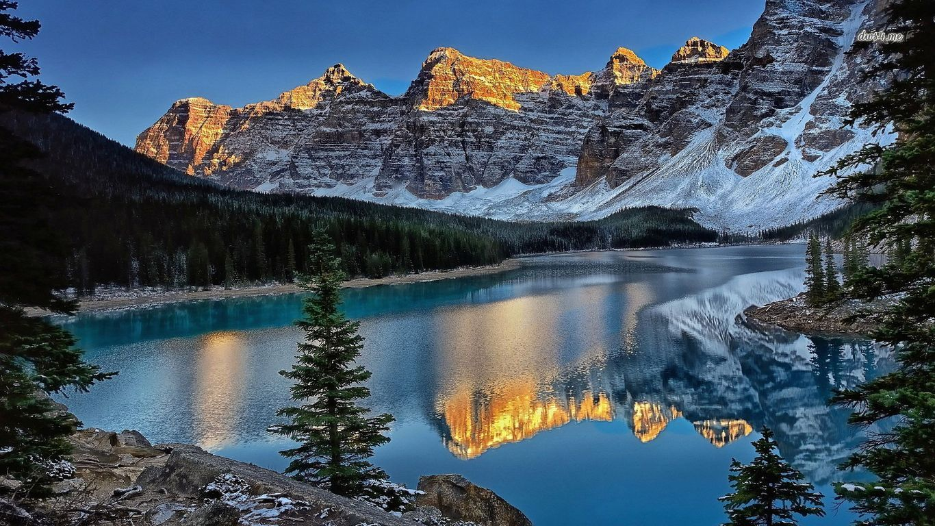 Banff National Park wallpaper   Nature wallpapers   29272 1366x768