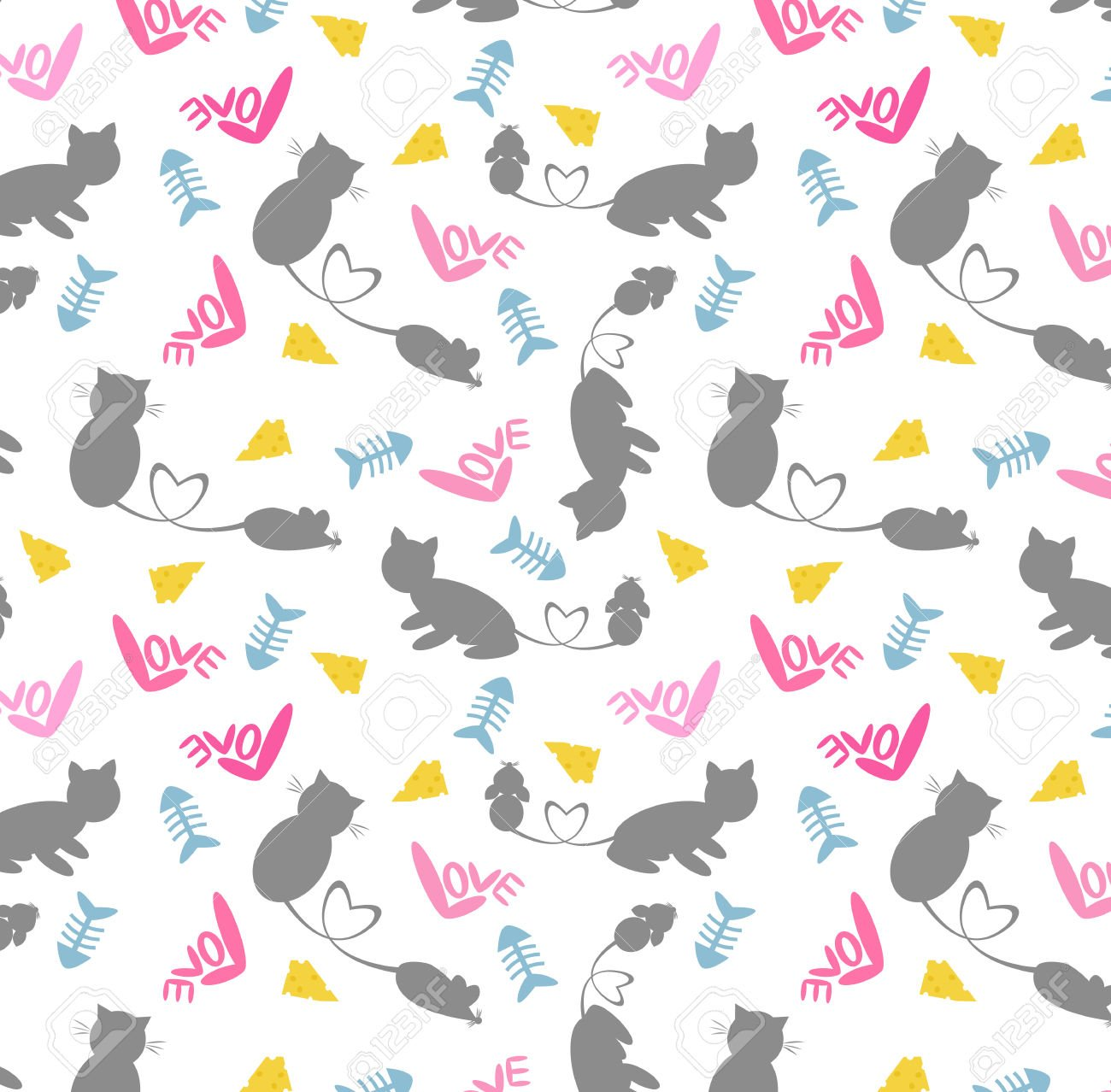 cartoon cat wallpaper wallpapersafari