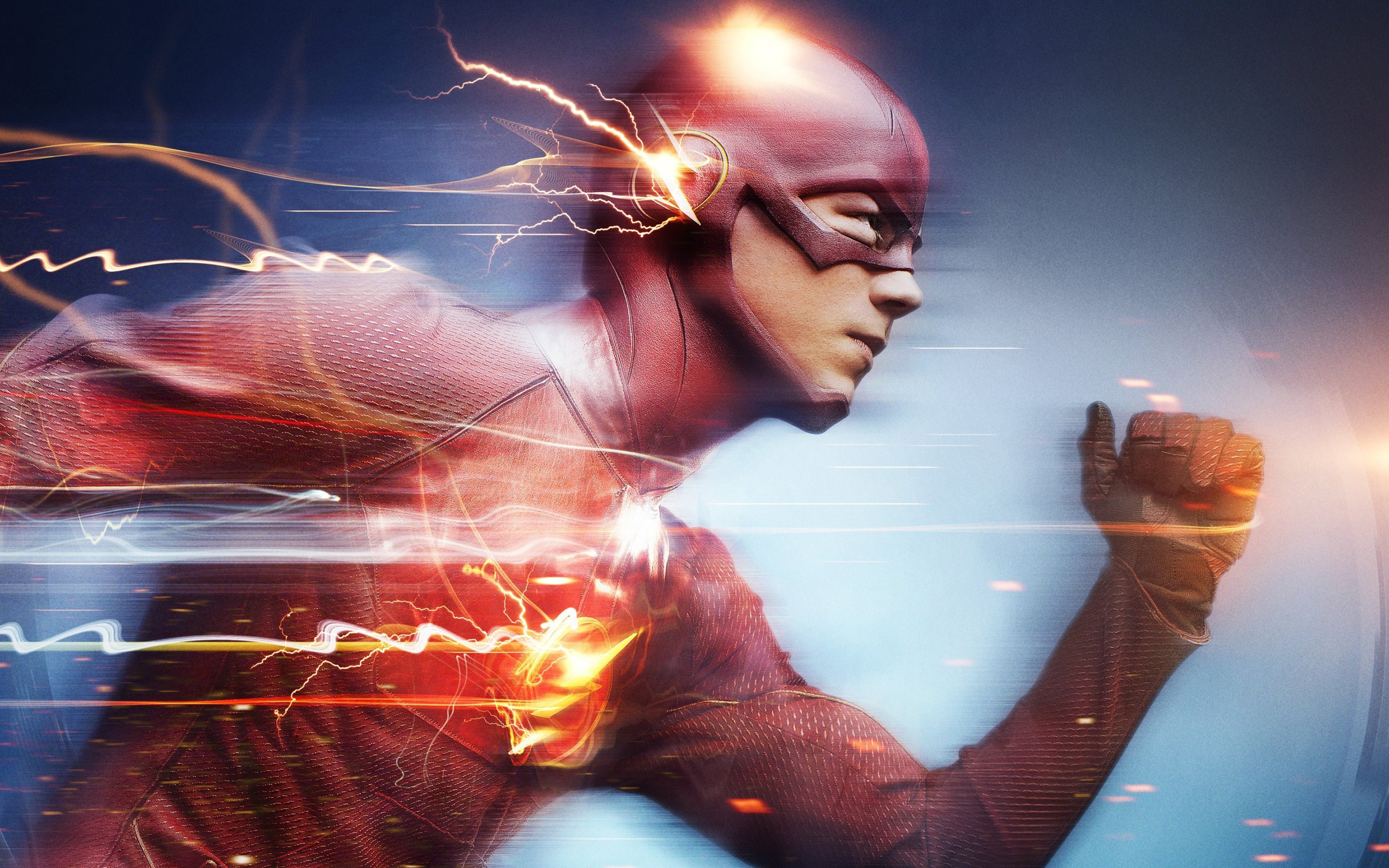Barry Allen The Flash Wallpapers HD Wallpapers 2880x1800