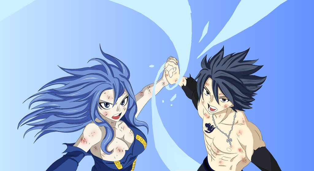 Fairy Tail Gray And Lucy Wallpaper Gray y Juvia Fairy Tail 322 1024x557