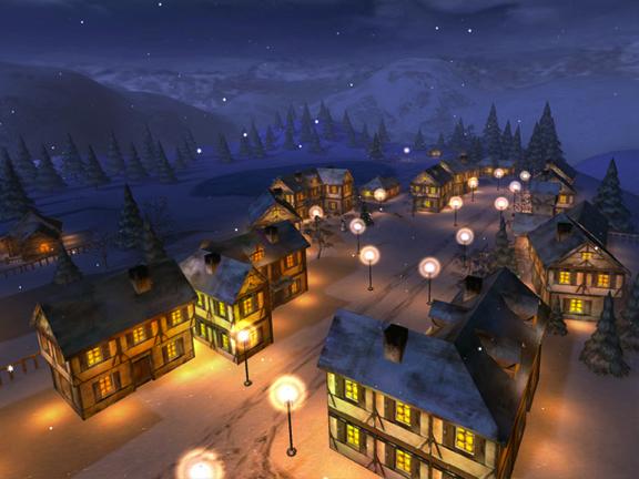 Animated Christmas Wallpaper Screensavers 3D Christmas 576x432