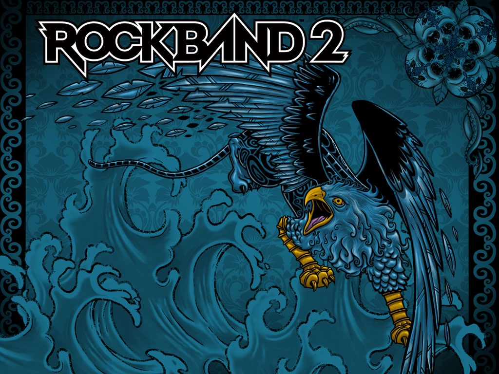 Rock Band 2   Download Wallpaper Games   Daily Games 1024x768