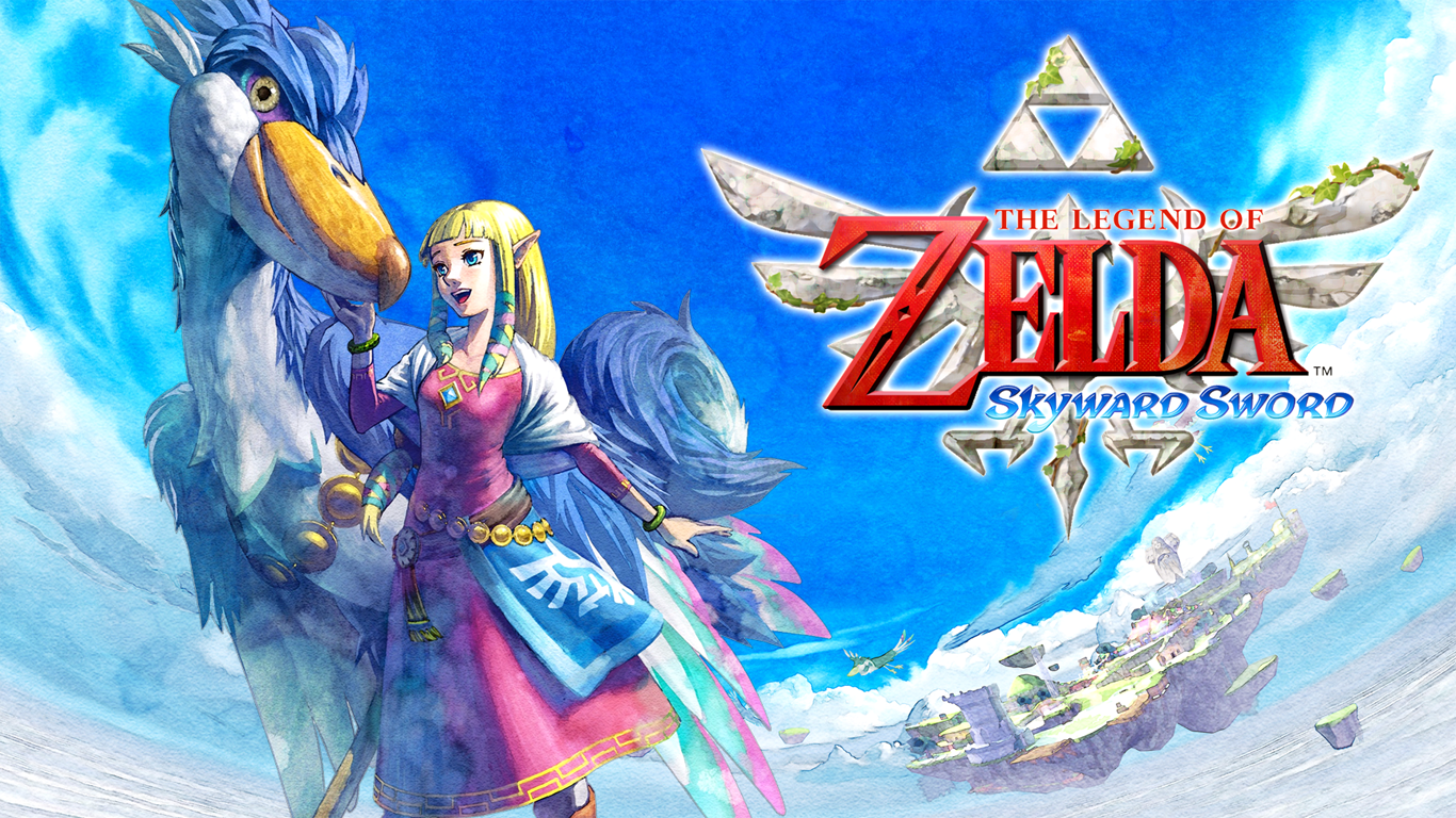 Free Download The Legend Of Zelda Skyward Sword Wallpaper By