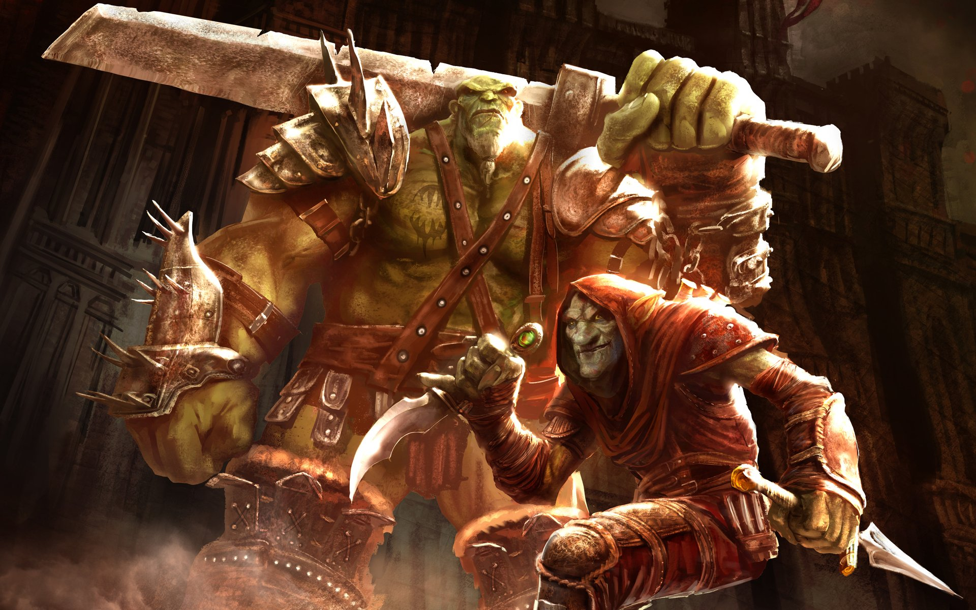 Of Orcs And Men games video games fantasy monsters 1920x1200