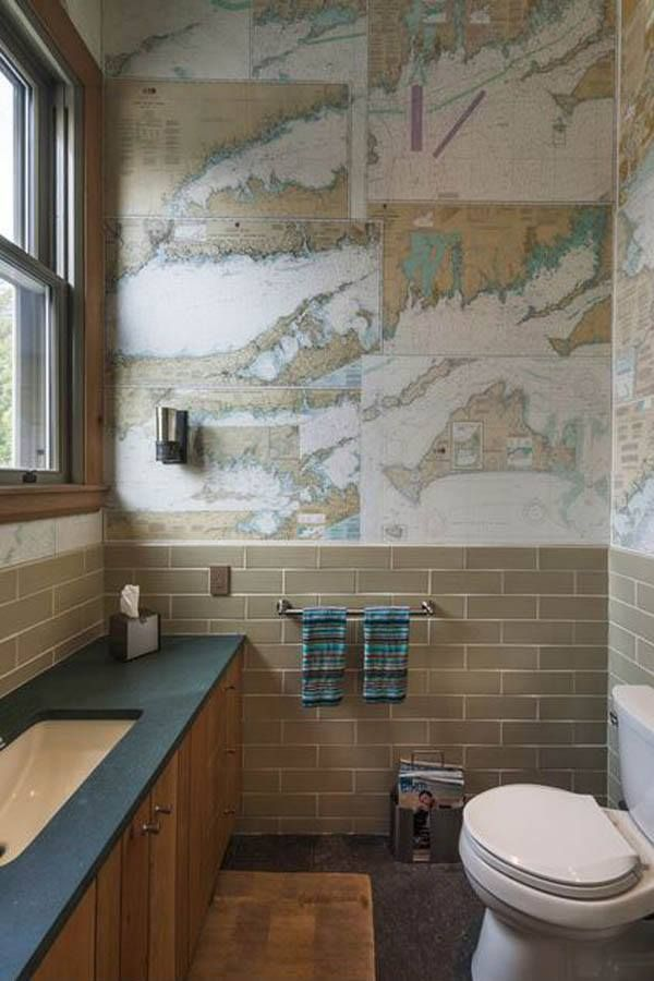 use old maps as wallpaperamazing home elements Pinterest 600x900