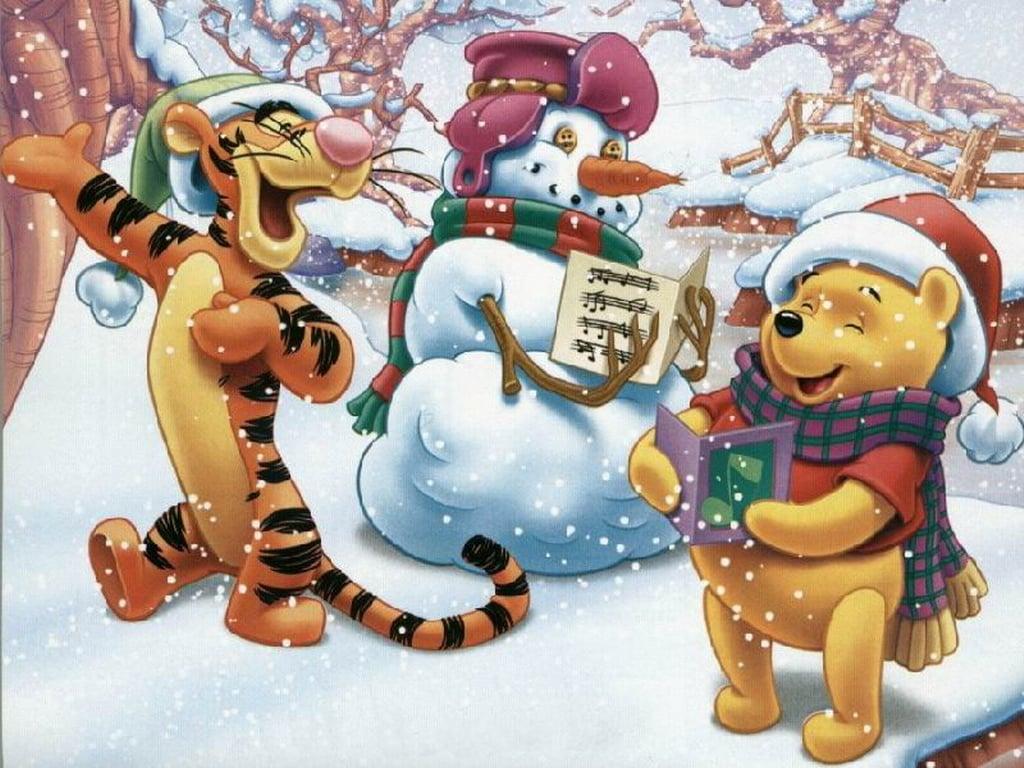 Winnie the Pooh Christmas - Christmas Wallpaper (2735471) - Fanpop