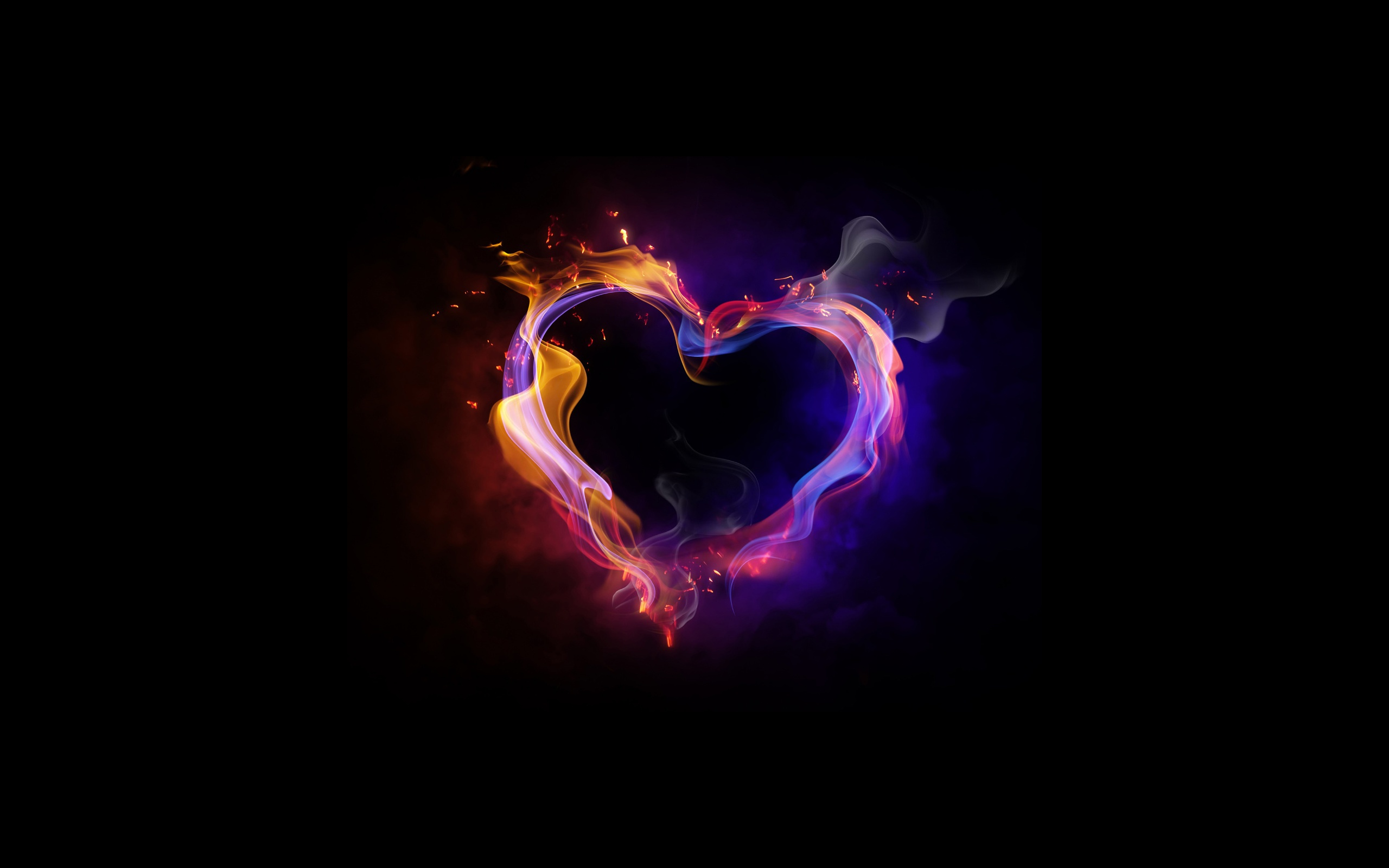 Fire Of Love Wallpaper Background 6987993 2560x1600