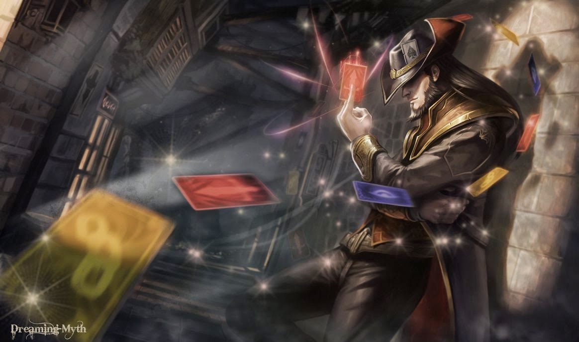 Twisted Fate League of Legends Wallpaper Twisted Fate Desktop 1164x687