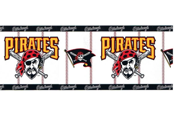 Home Pittsburgh Pirates Wallpaper Border 37591617 600x400