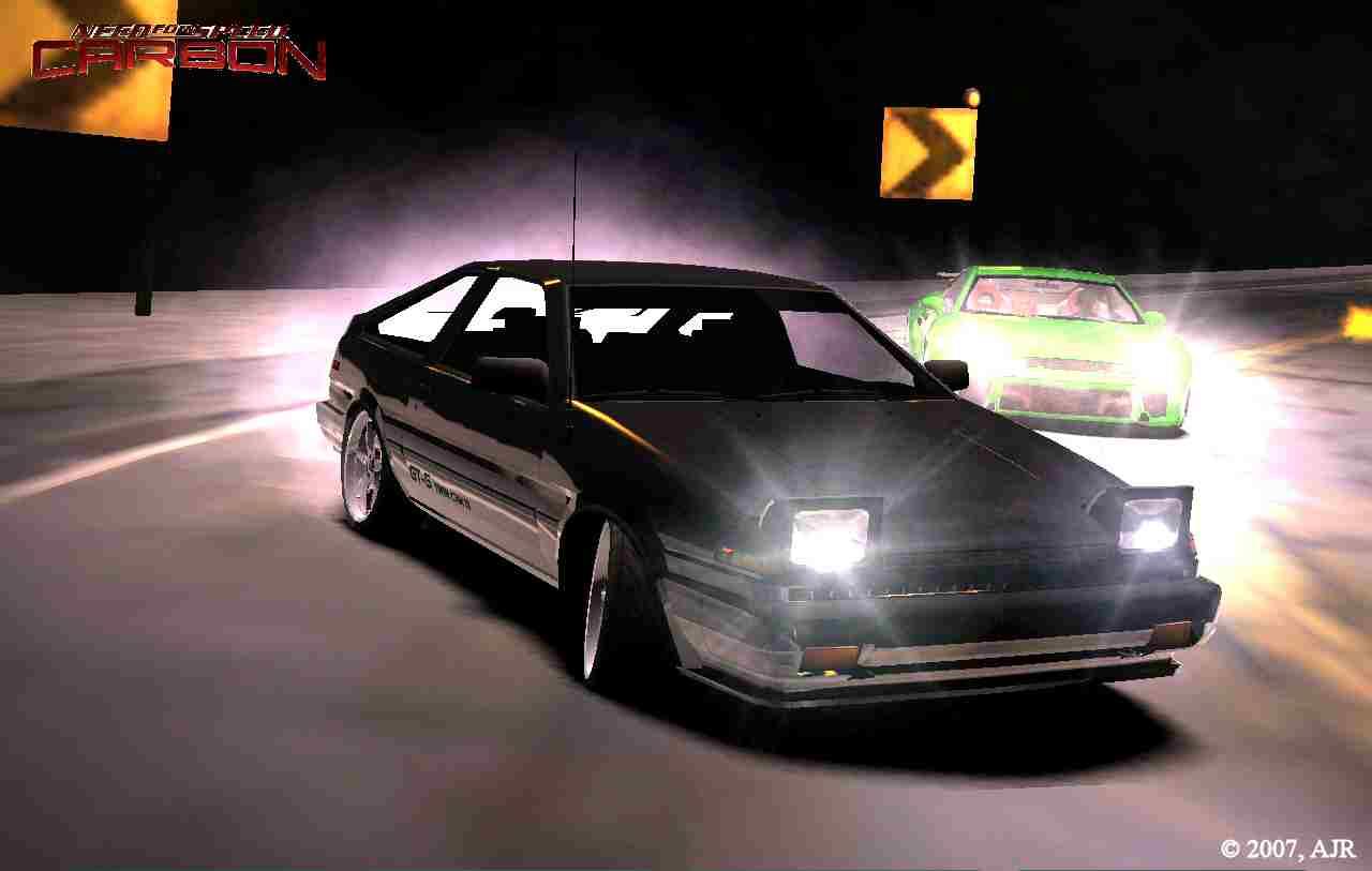 Ae86 Trueno Drift Wallpaper Toyota Drifting During 1280x813
