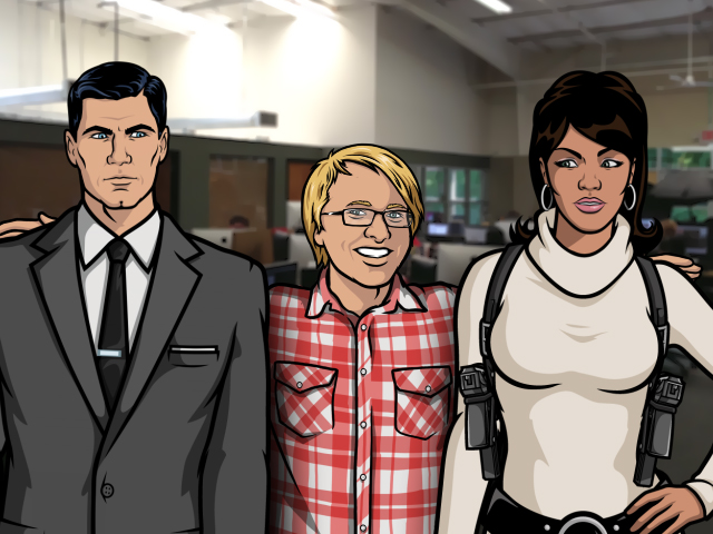 super spies sterling archer archer lana kane hentai cartoon fellow 640x480