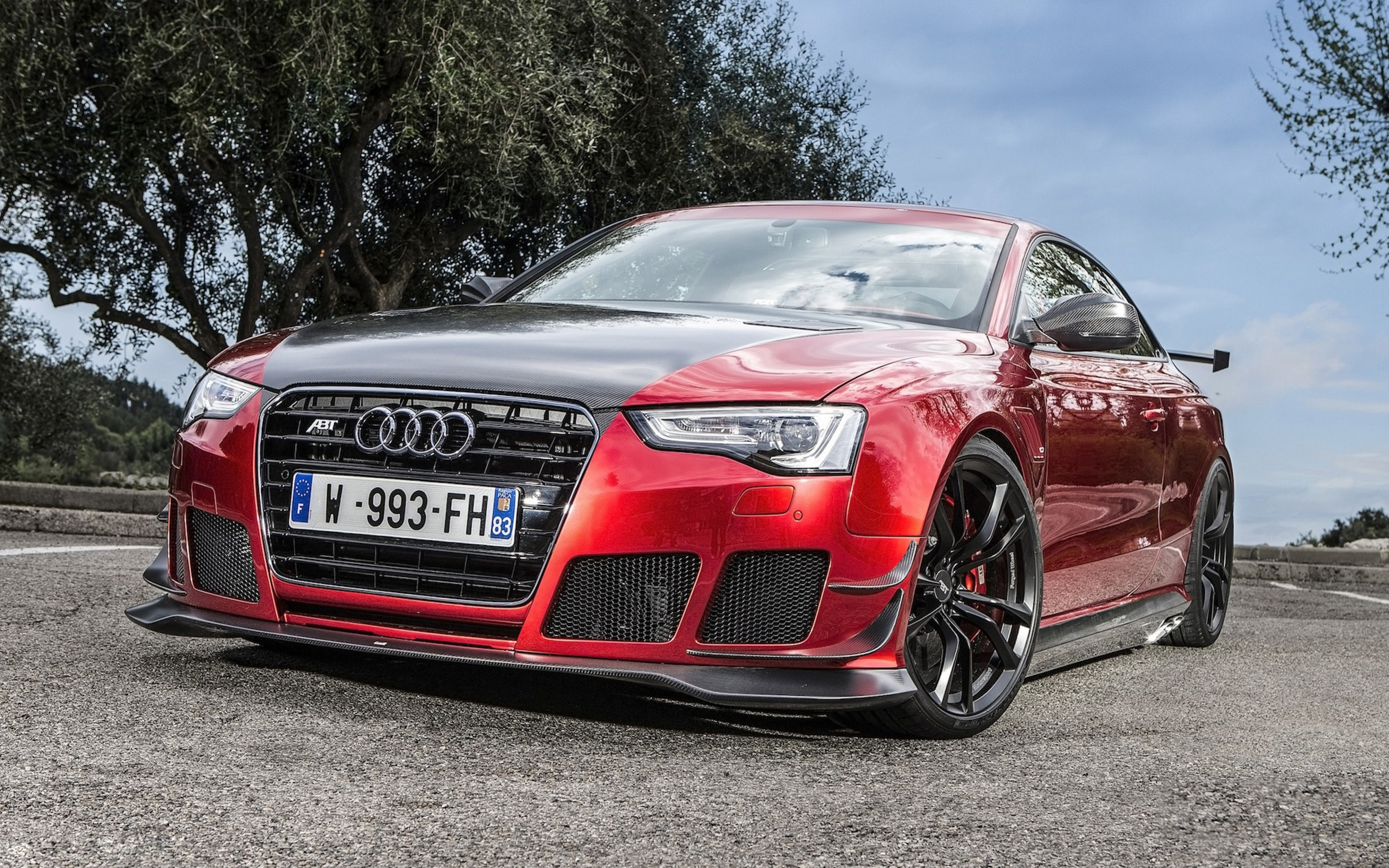 Audi Rs5 r Tuning Front view Wallpaper Background Ultra HD 4K 3840x2400