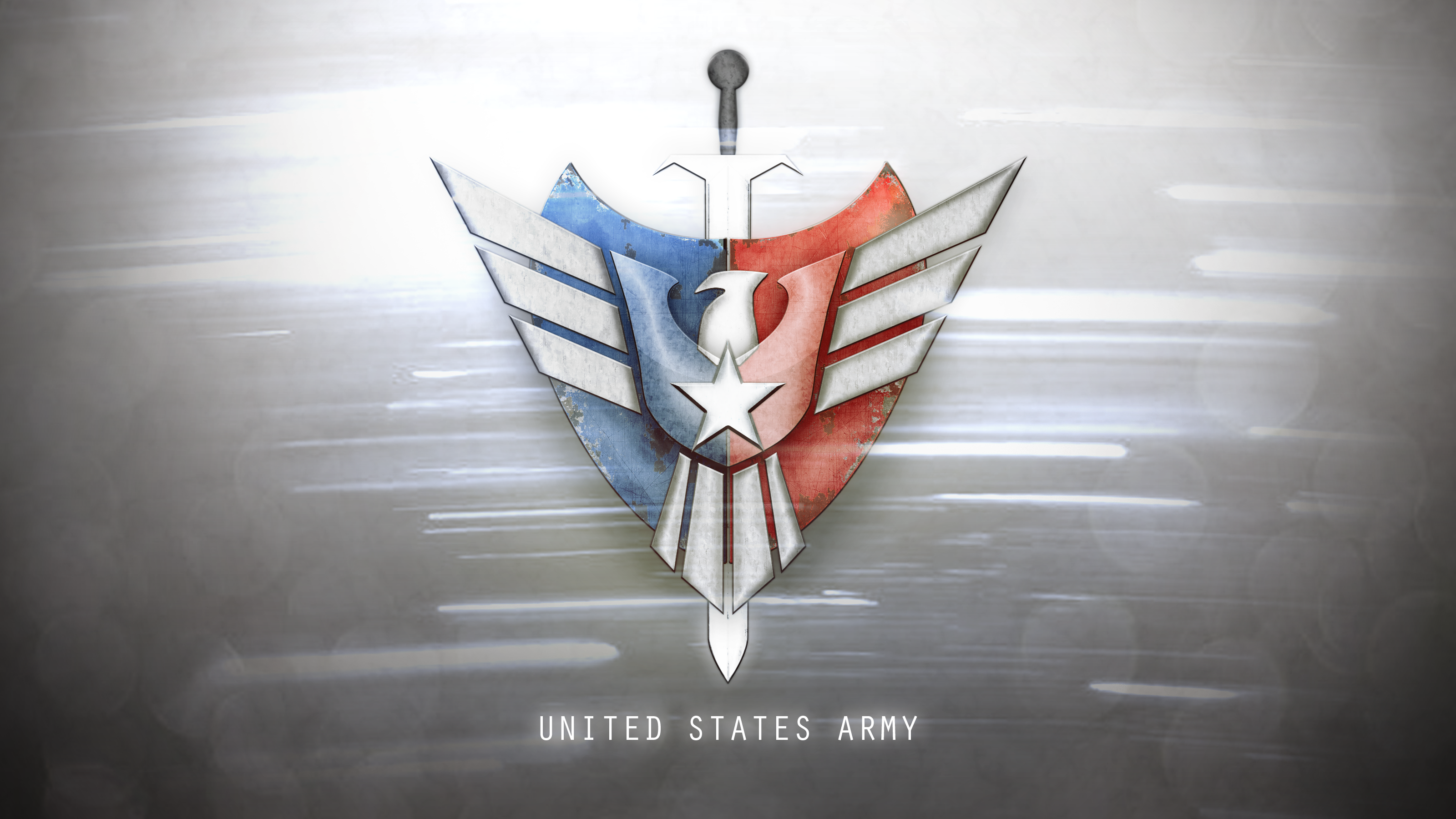 Us Army Logo Wallpaper United states army logo by 3200x1800