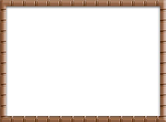 CHOCOLATE BORDER WITH BACKGROUND by MissesAmberVaughn 675x495