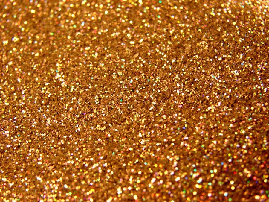 Gold Glitter Stock by yobanda 900x675
