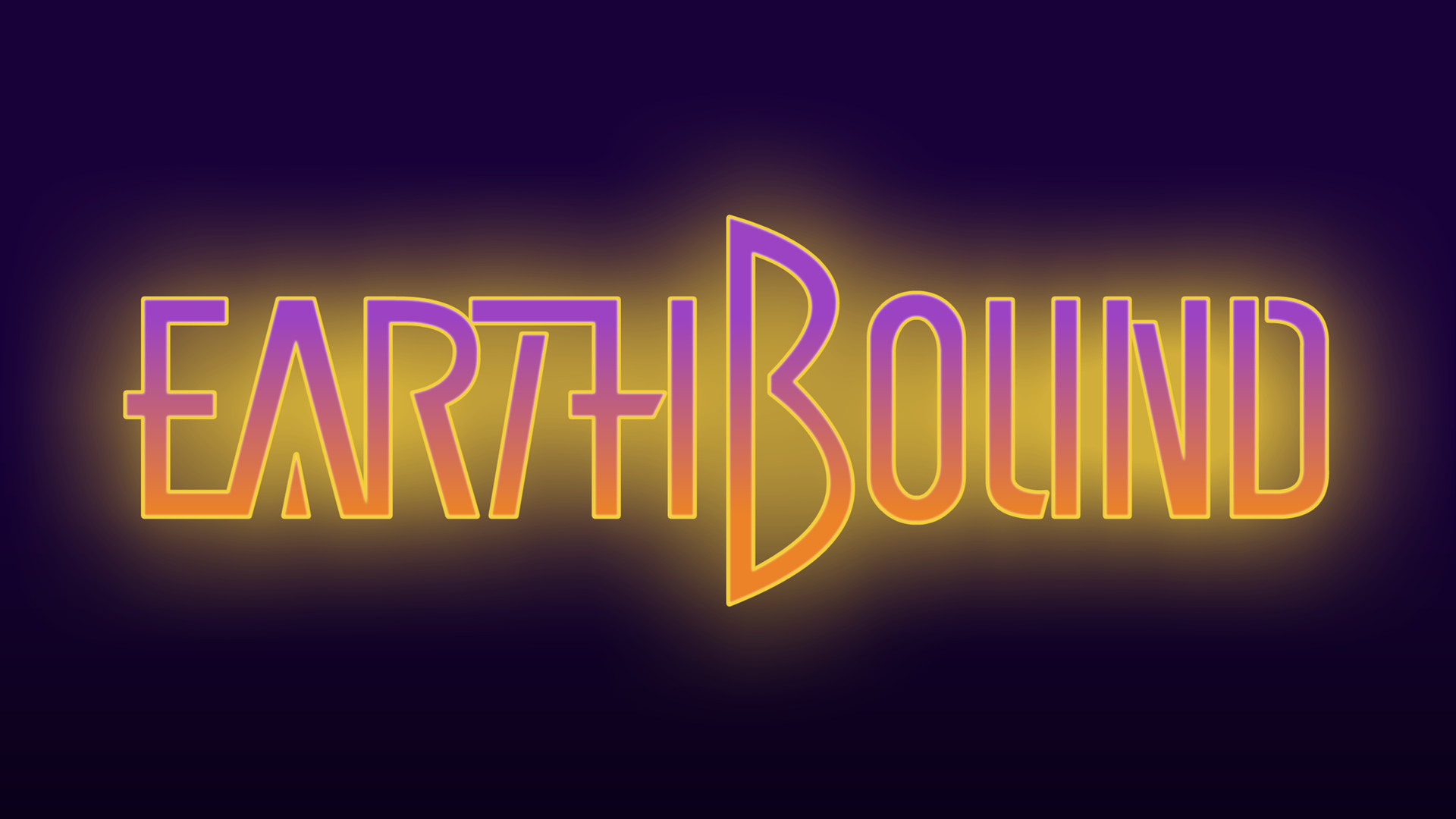 Earthbound Logo Wallpaper 1920x1080 by hocotate civ on 1920x1080