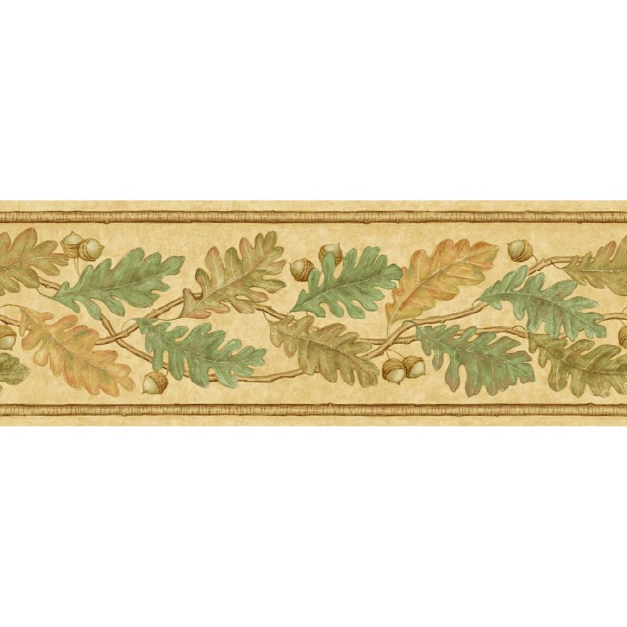 IMPERIAL 6 78 Oak Leaves Prepasted Wallpaper Border at Lowescom 900x900