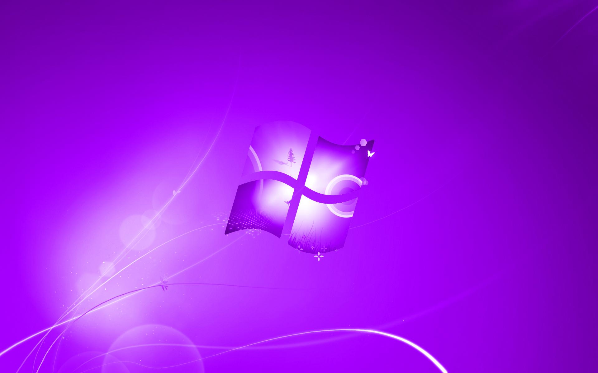 Photo Collection Windows 10 Purple Background