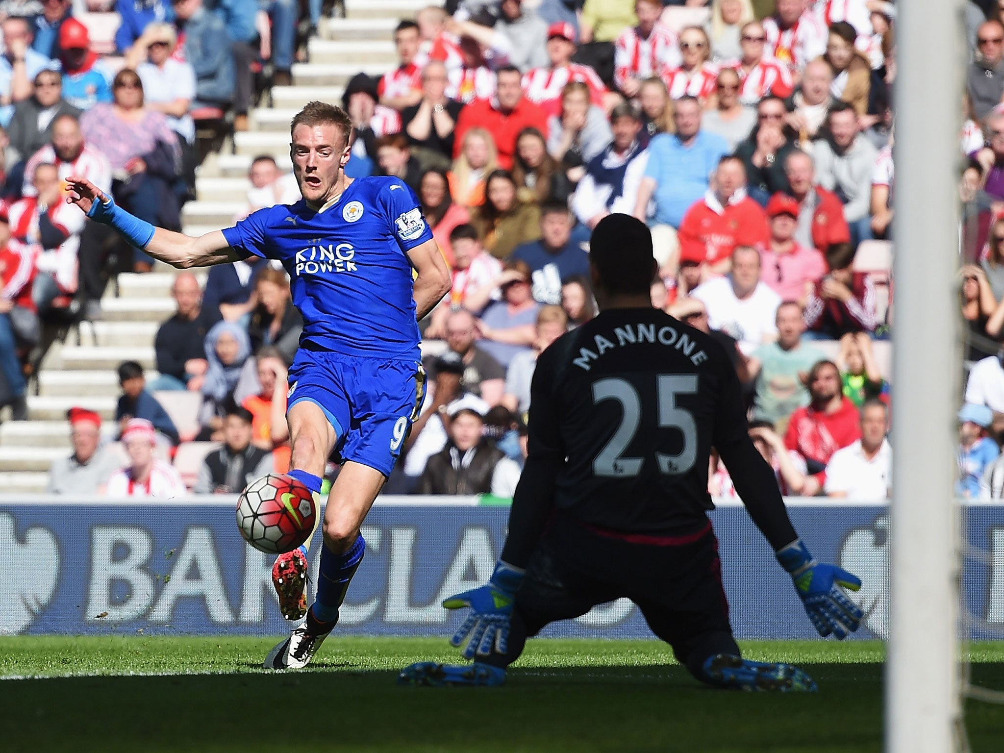 Sunderland vs Leicester match report Jamie Vardy double keeps 2048x1536