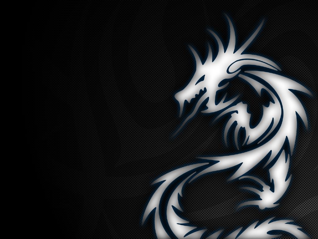 cartoon picture Tribal Dragon Wallpaper 1024x768