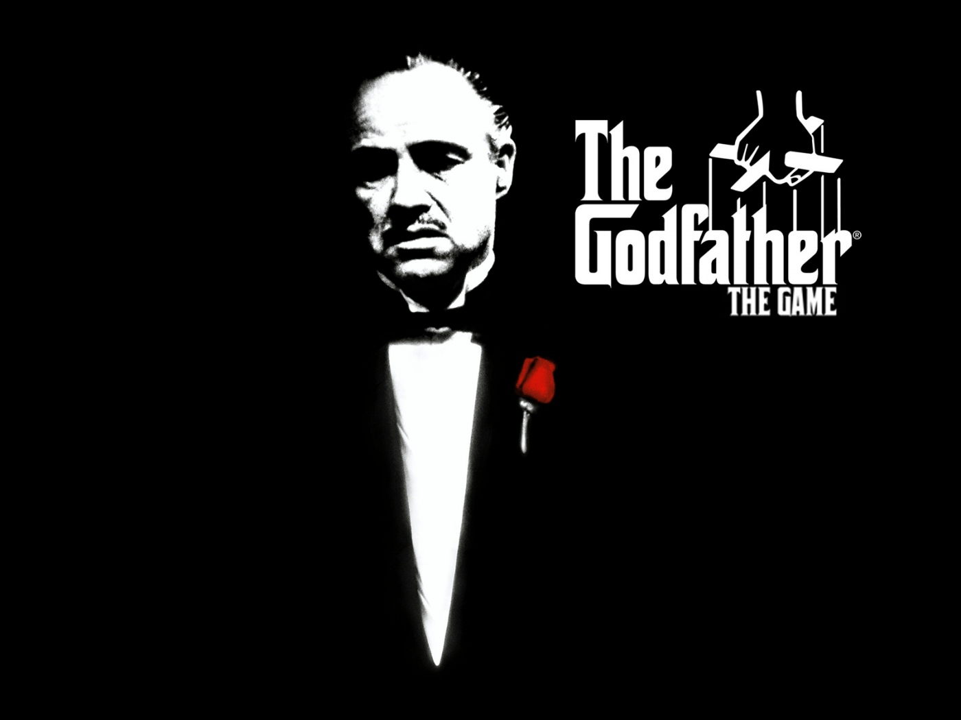 1400x1050 Wallpaper godfather marlon brando don vito corleone black 1400x1050