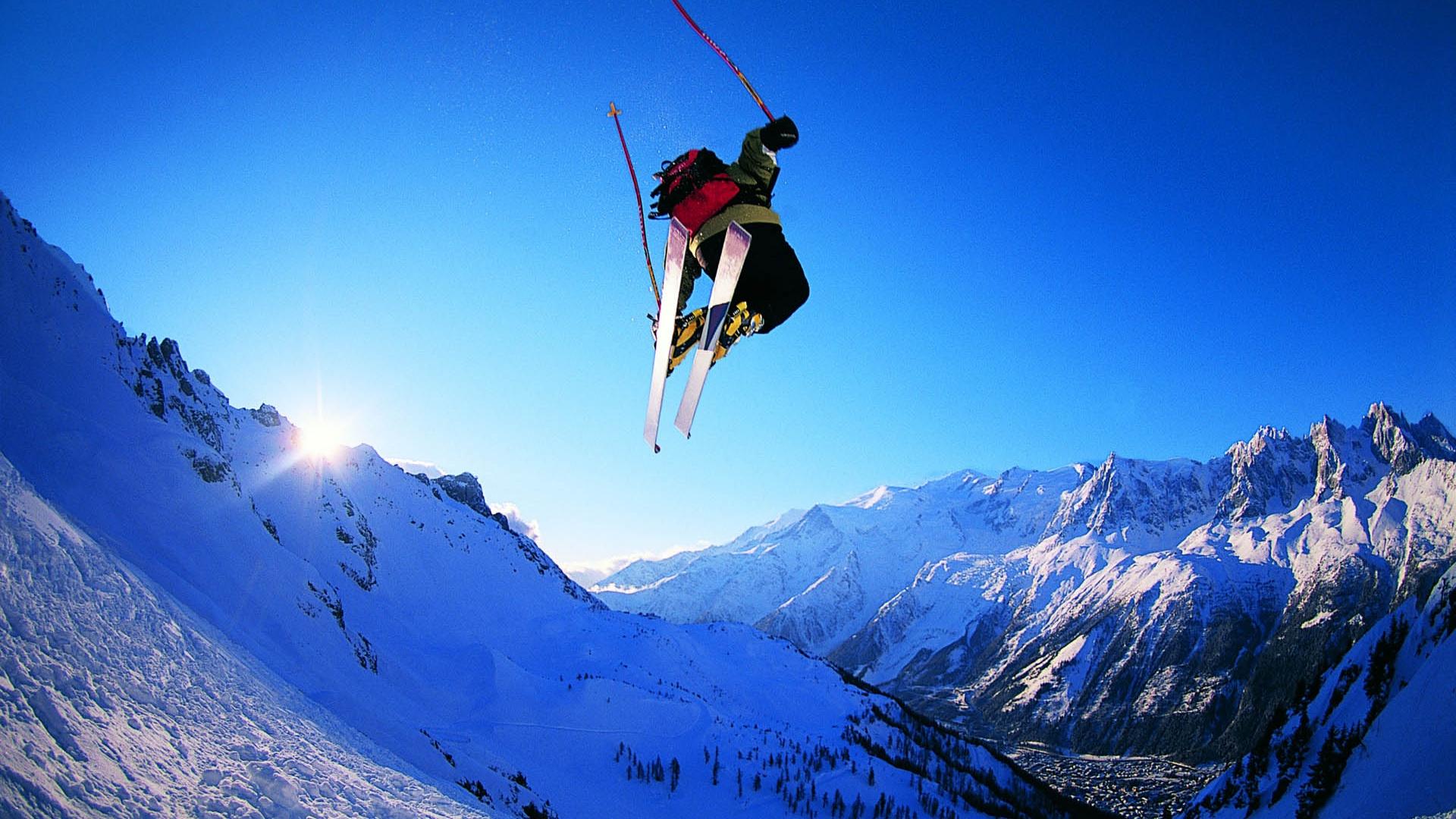 сноубордист прыжок горы  № 3300599 загрузить